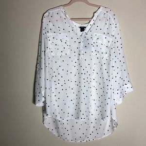One blouse from Torrid, size 4